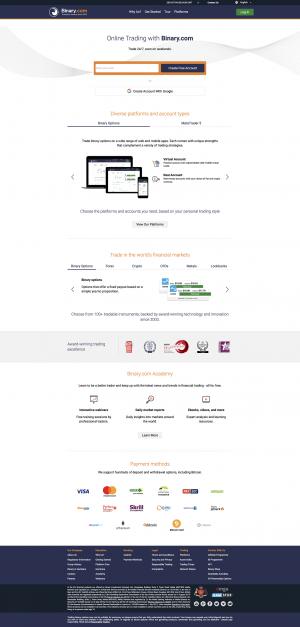 Binary.com Screenshot