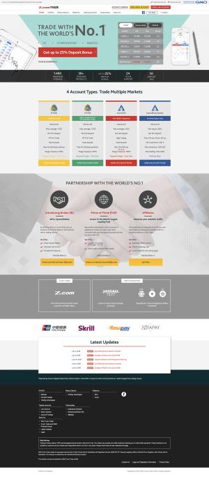 Z.com Trade Screenshot