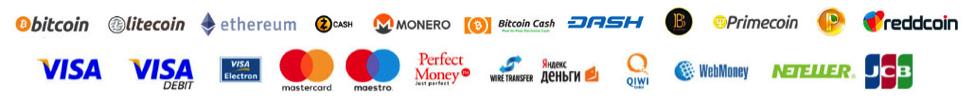 Binarycent payment methods