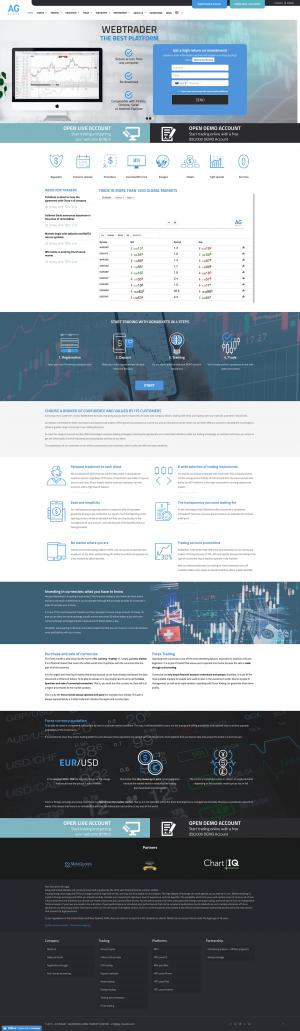 AG Markets Screenshot