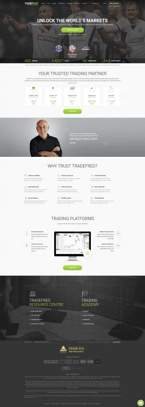 TradeFred Screenshot