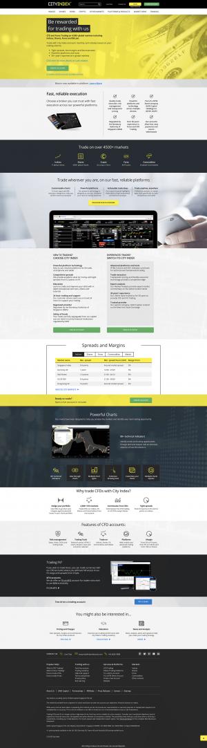 CityIndex SG Screenshot