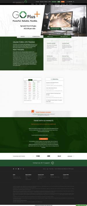 GO Markets Screenshot