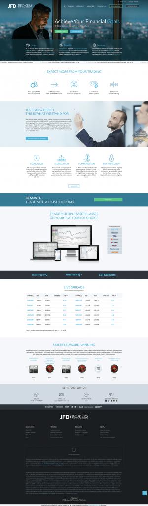 JFD Brokers Screenshot