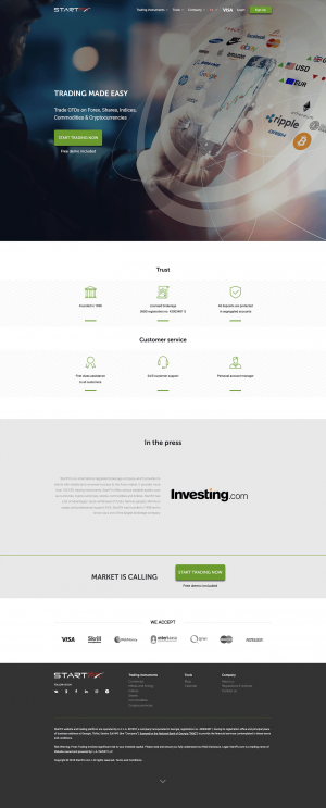 StartFX Screenshot