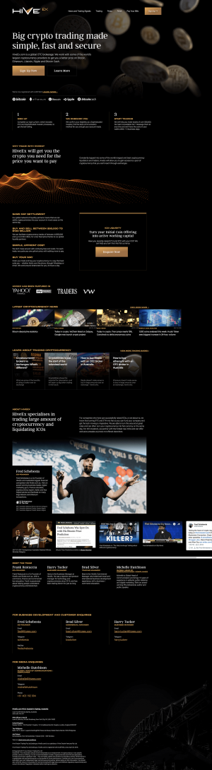 HiveEx Screenshot