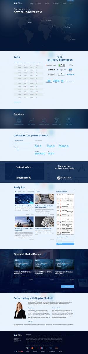 Capital Markets Screenshot